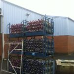 Painting Warehouse External Commercial - ISDecs Painting & Decorating Rotherham Sheffield Leeds