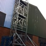 Surface Preparation Warehouse External Commercial 2 - ISDecs Painting & Decorating Rotherham Sheffield Leeds