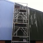 Surface Preparation Warehouse External Commercial - ISDecs Painting & Decorating Rotherham Sheffield Leeds
