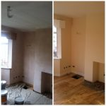 living room 2 wall and ceiling - ISDecs Painting & Decorating Rotherham Sheffield Leeds